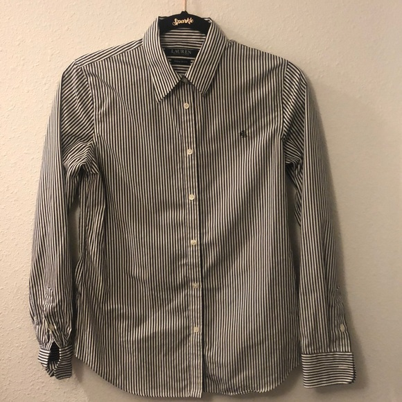 Ralph Lauren- Lauren Non-iron 100% cotton top
